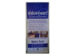 The Retracta-Banner from Portable Displays Australia