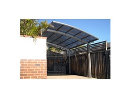 The new Cantaport system available from Greenline Shade and Shelter is ideal for carports