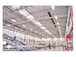 The radiant efficiency factor: Schwank gas radiant overhead tube heaters