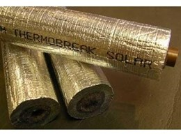 Thermobreak solar foam insulation from Sekisui Foam Australia for solar water heaters