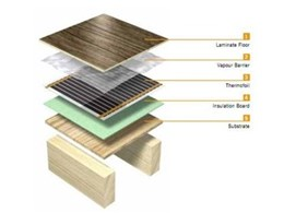 Thermogroup Australia's Thermofoil insulation mats for under laminate and engineered boards