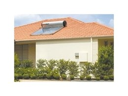 Thermosiphon roof mounted systems from Solahart