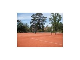 TigerTurf's ClayTurf surface at Greensborough Tennis Club