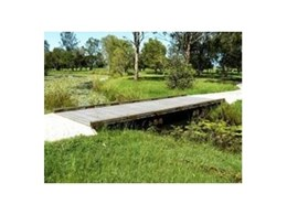 Timber boardwalks available from Outside Products