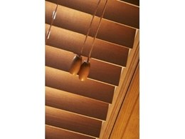 Timber venetian blinds from Accent Blinds Australia