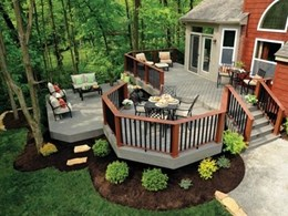 TimberTech's new Terrain Collection of composite decking planks