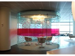 Toughened curved glass panels from Bent and Curved Glass