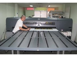 Townsville print shop swears by robust HP Scitex FB500 combo flatbed printers