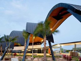 ZC Technical installs standing seam zinc roof system at Townsville Cruise Terminal