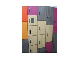 Traditional locker range of door lockers available from Excel Lockers