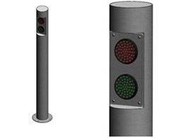 Traffic light bollards available from Leda-Vannaclip