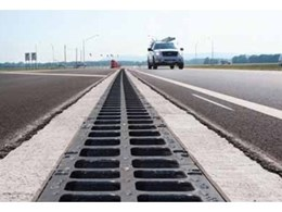TraffikDrain grated trench drains from ACO Polycrete