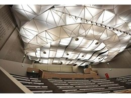 Translucent lighting systems available from Barrisol Australia