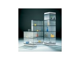 Transparenta Frameless Showcases from Octanorm