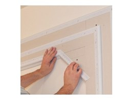 Trim-Tex Decorative L-Beads from Wallboard Tools provide complex yet affordable architectural designs
