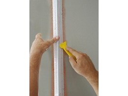 Trim-Tex impact-resistant I Beam rigid beads available from Wallboard Tools