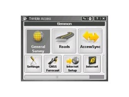 Trimble Access software streamlines surveys and projects