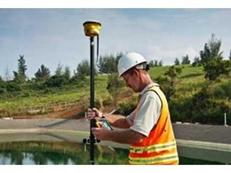 Trimble's new GNSS smart antennas perform high accuracy construction site measurements