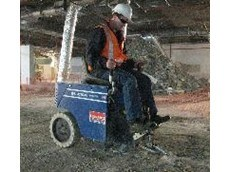 Trinity Demolition hire Kennards Concrete Care's floor preparation machines