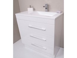 Trio bathroom vanity units from Rifco