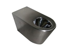 Type 3 stainless steel toilets from Stoddart Australia