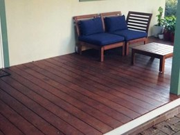 UBIQ's timber look INEX>DECKING installed at granny flat in Epping, NSW