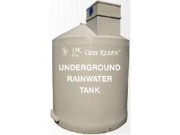 Underground Rainwater Tanks from Ozzi Kleen