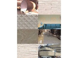 Unfired clay products from Novaproducts for flooring and cladding