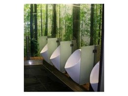 Uridan waterless urinals from Watersave Australia offer quality and sustainability in bathroom design
