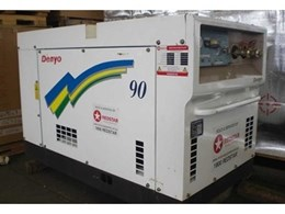 Used generators and air compressors from Redstar Equipment