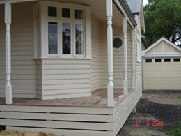 V Notch Weatherboards from Healy's Building Services