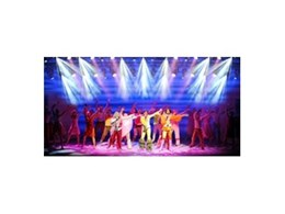 VARI-LITE lighting from Jands used in Mamma Mia stage show