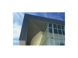 VM Zinc Australia's Flat Lock Panel cladding system provides an elegant finish