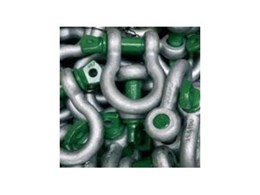 Van Beest range of Green Pin shackles from A Noble & Son
