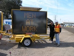Variable message signs from Kennards Hire used in major Victorian road upgrade