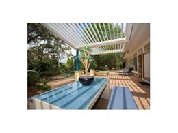 Vergola (NSW) offers smart operable louvre roofs