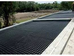 VersiDrain 25P water retention and drainage trays from Green Roof Technologies