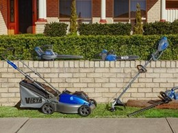 Victa's new range of garden tools have 40V lithium batteries