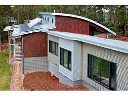 Viridian Low E Glass Windows used at Award-Winning Eco Home