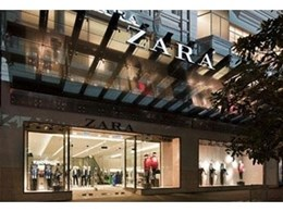 Viridian are selected by Zara to create a dramatic glass awning at Melbourne store