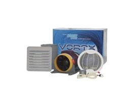 Vortx exhaust fans available from Hunter Pacific