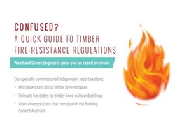 Woodform Architectural report takes the guesswork out of BCA fire compliance for timber