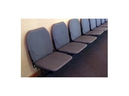 Wall mounted benches and seats from Acromat
