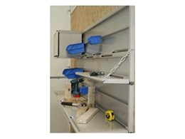 Wall racking systems available from Apartment Storage Systems