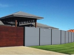 Wallmark launches new Evowall range of modular fencing panels