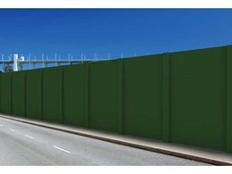 Wallmark's acoustic fencing systems reduce noise pollution