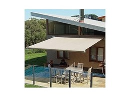 Warema folding arm awnings from Shade Factor