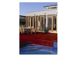 Water based decking stain from Cabot's transforms outdoor areas