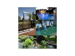 Water features work wonders for landscaping projects