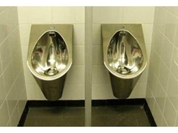 WaterMark and WELS certified stainless steel urinals from Britex